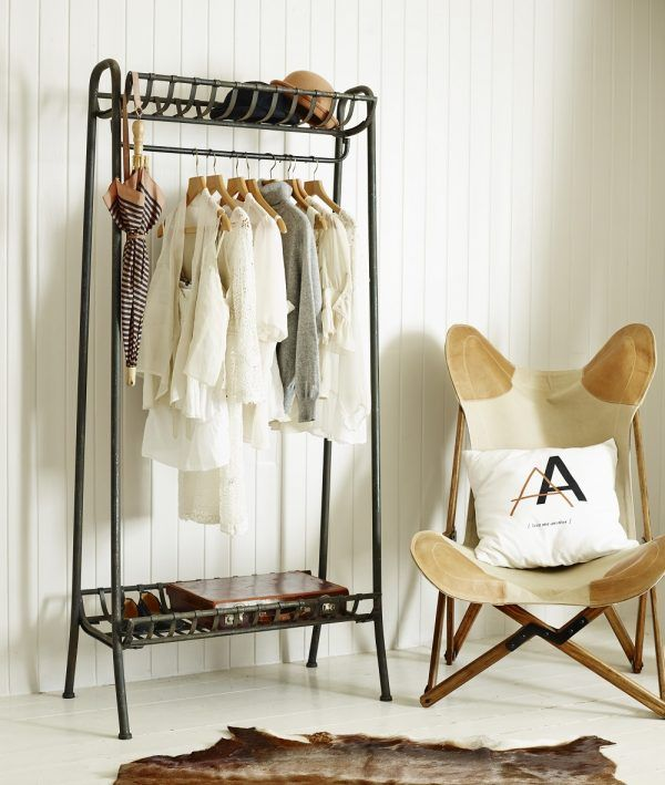Furniture Witching Entryway Bench And Coat Rack Ikea With Industrial Pipe  Closet Rod And Wooden Cloth