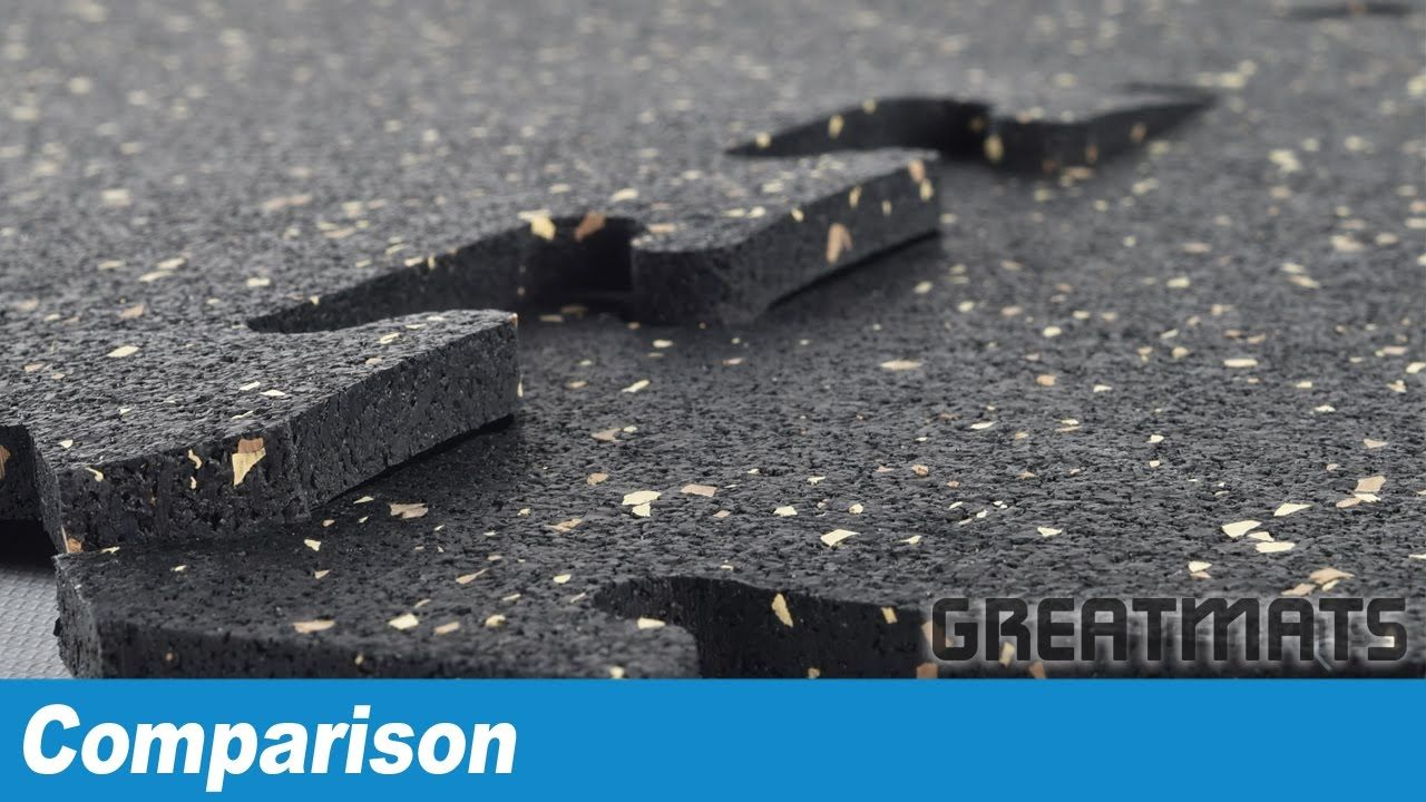 Comparing interlocking rubber gym tiles 8mm 38 inch and 34 lets compare interlocking rubber gym floor tiles interlocking rubber gym floor tiles are designed to provide a durable non slip gym floor surface that doublecrazyfo Choice Image