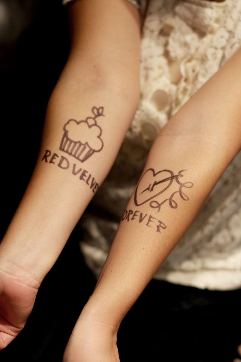 Happy birthday miss rachel fake tattoos tattoo people