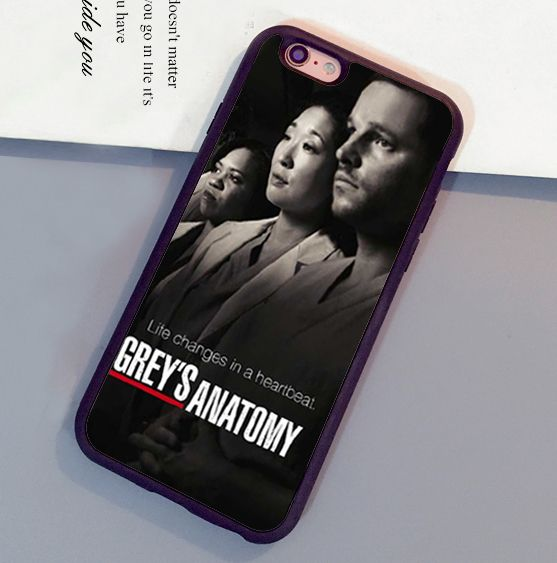 Click To Buy Greys Anatomy Poster Printed Soft Rubber Skin