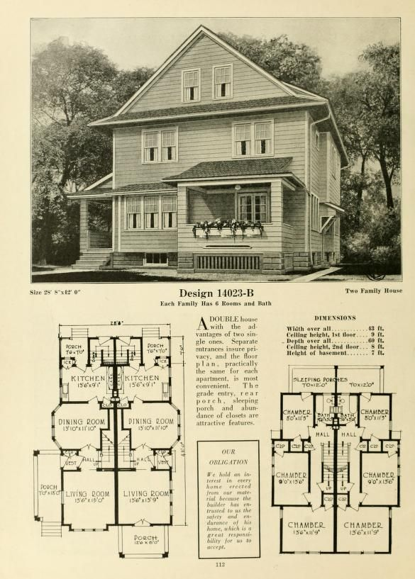 Central S Book Of Homes Bungalow House Plans Vintage House Plans Craftsman House Plans
