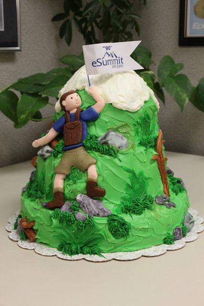 Climbers Birthday Cakes