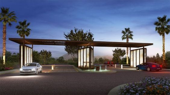 Residential Image By Kira Teng Entrance Gates Design