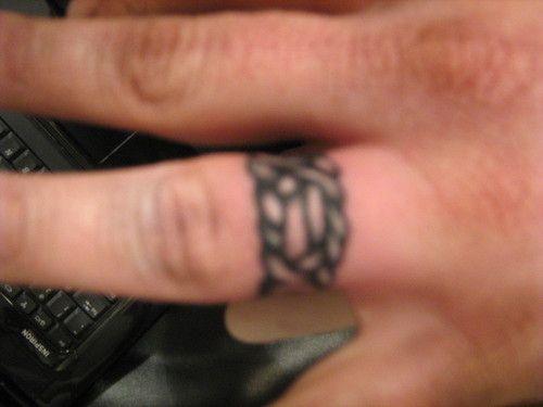 One More Celtic Wedding Ring Tattoo Design Celtic Wedding Ring