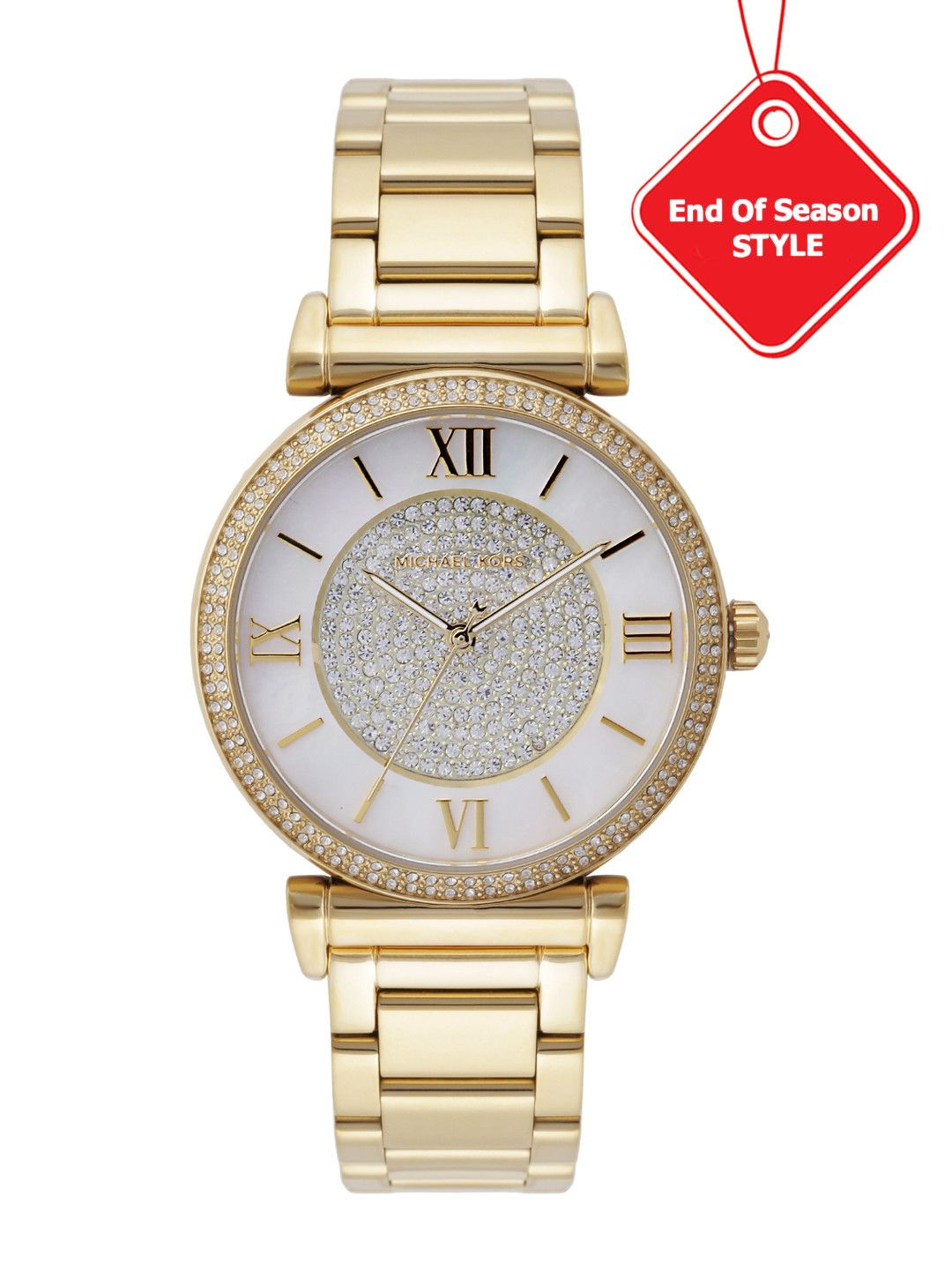 ae3daaab42d3 Michael Kors Golden Diamond Analog Watch MK3332