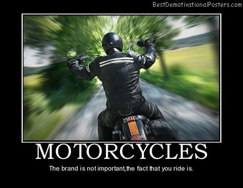 Motorcycle Brands Motivational Poster Motorcycle