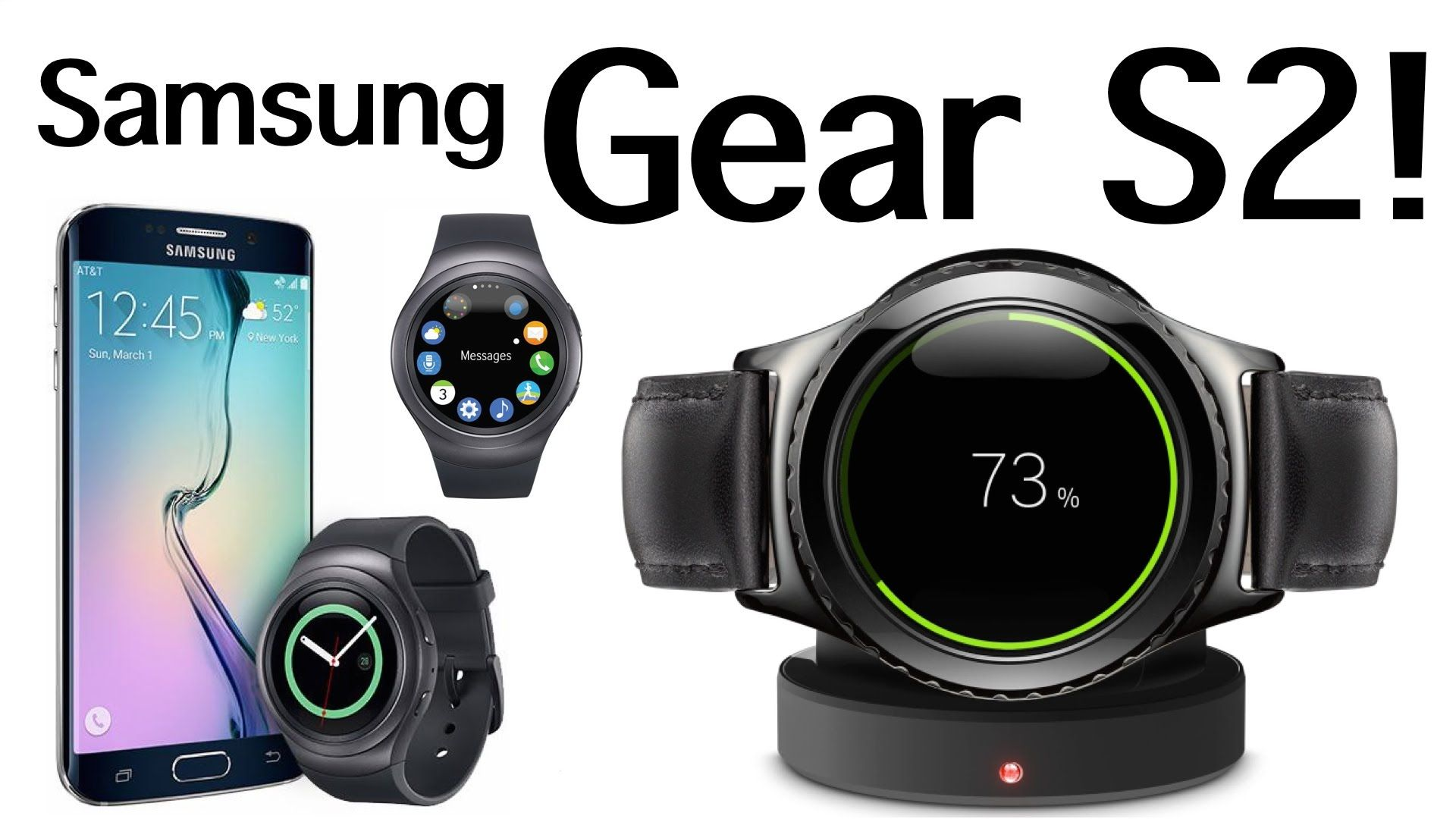 Samsung Gear S2 SmartWatch Unboxing