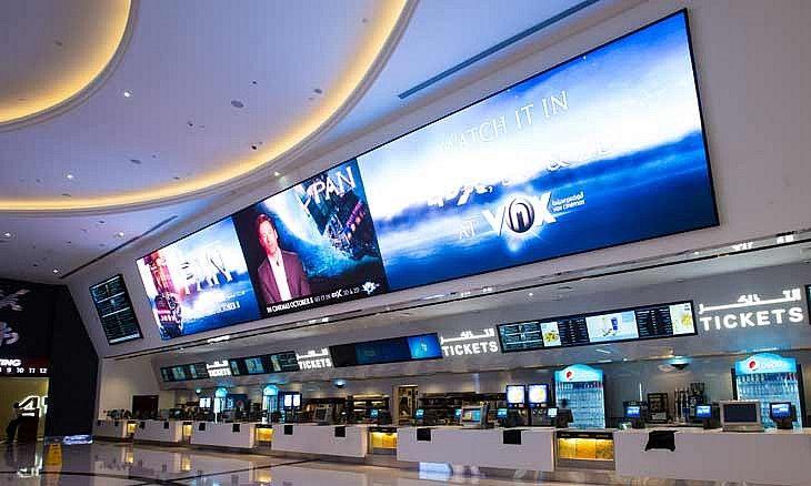 Vox Cinema Mall Of Emirates City Shopping Malls Blockbuster Film