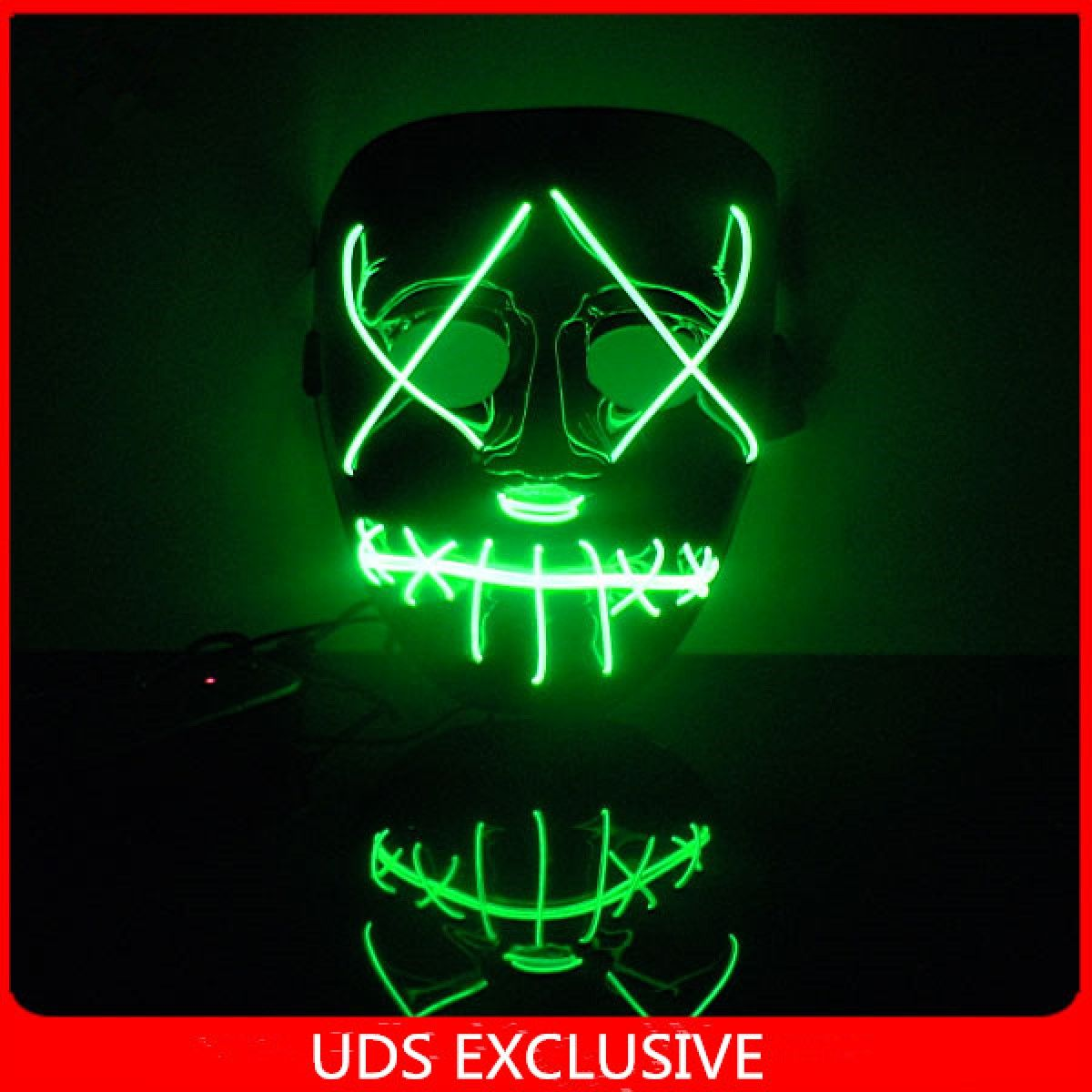 The Purge 3 Official Trailer Mask Light Up Halloween Mask Party ...
