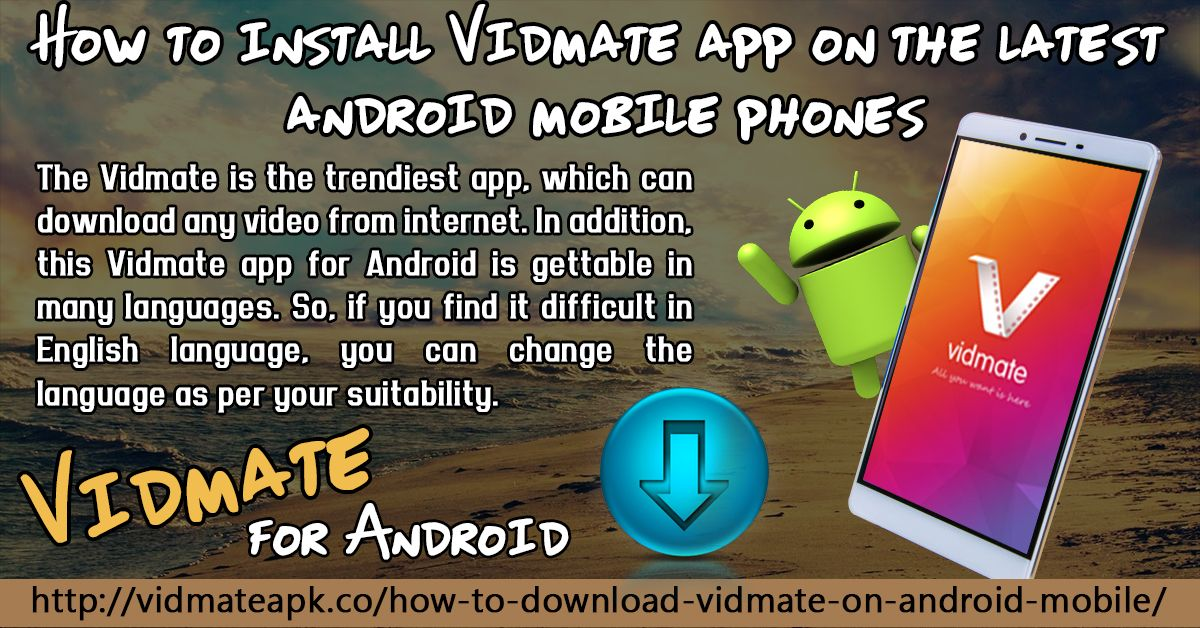 Pin on How To Install Vidmate App on The Latest Android