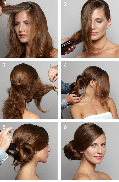 Wedding Hairstyle 101 How To Diy This Sleek Side Bun Capelli Acconciature Sposa