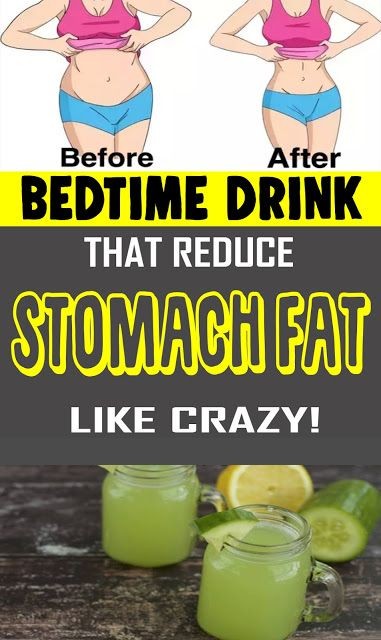 Sleep time DRINK THAT REDUCES STOMACH FAT LIKE CRA