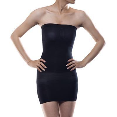 77c04b60bcd92 Women Sexy Full Tube Push Up Corrective Underwear Slim Overbust Women  Seamless Overbust Tummy Bodysuit Tube shapewear dress