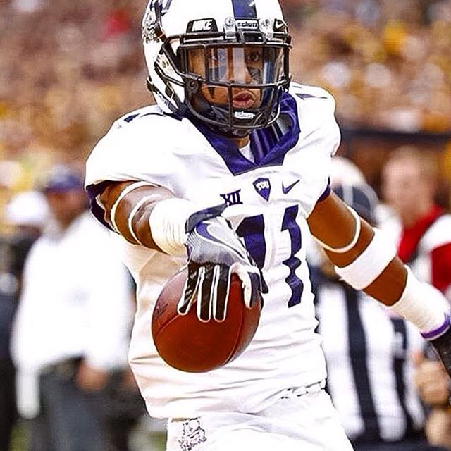 Tcu Football Wearing Our Warrior Eye Black Strips Available Here