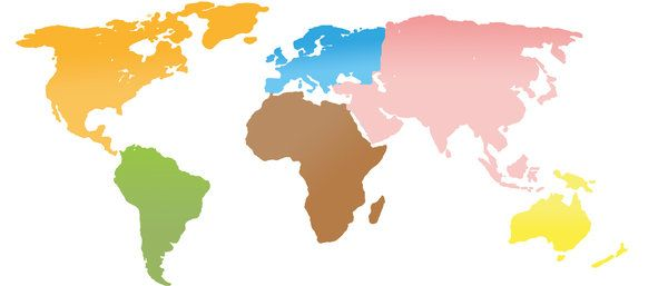 World map continents google search isp logo pinterest free world map continents google search gumiabroncs Choice Image