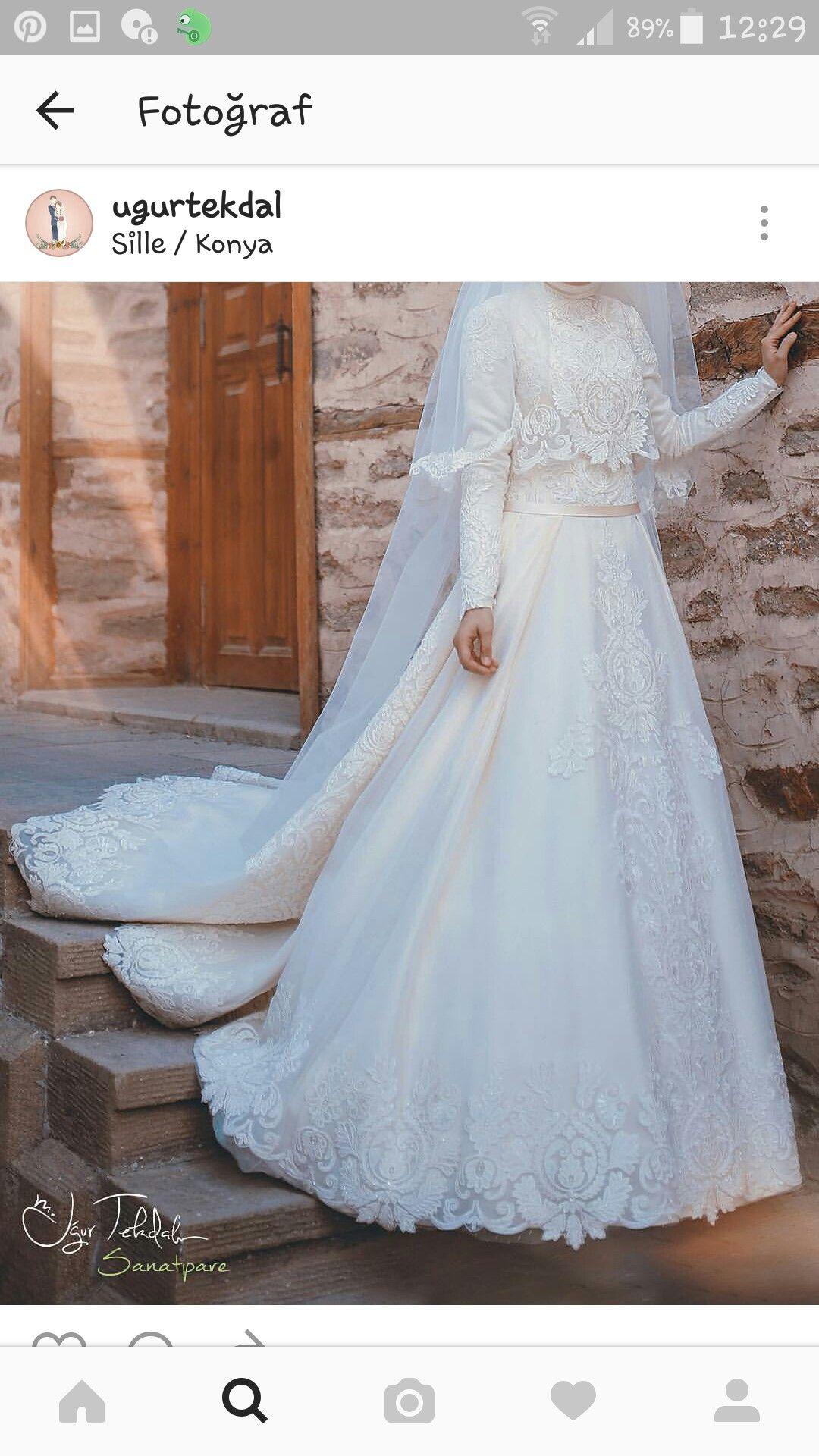 Favorim | Hijab wedding style | Pinterest | Wedding dress, Wedding ...