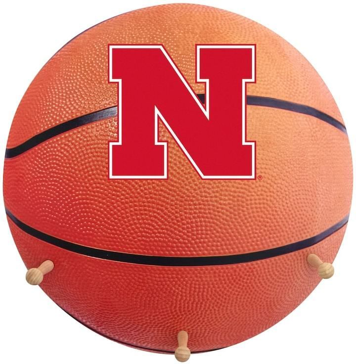 NCAA Nebraska Cornhuskers Basketball Coat Hanger
