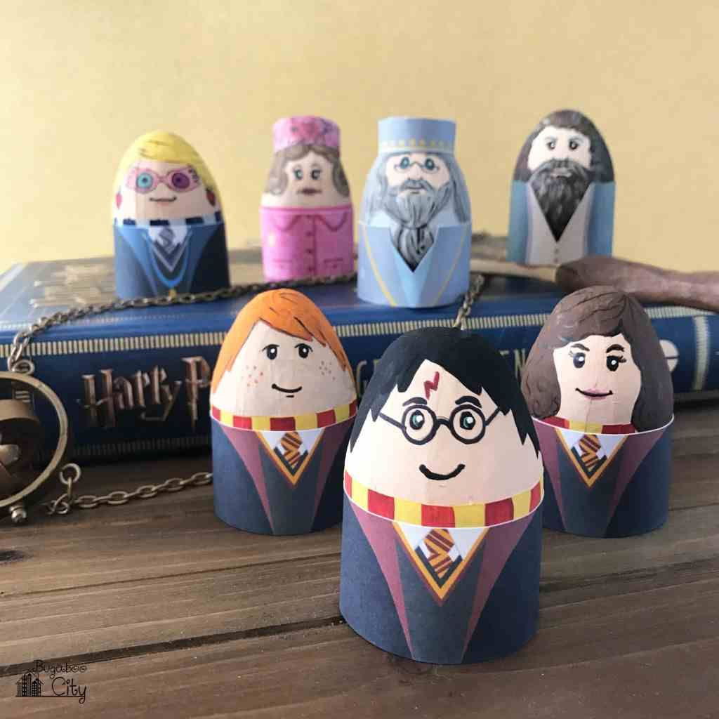 Harry Potter Easter Eggs Free Printable Egg Wrappers Ovo De Pascoa Cestas Criativas Arte Com Pedras