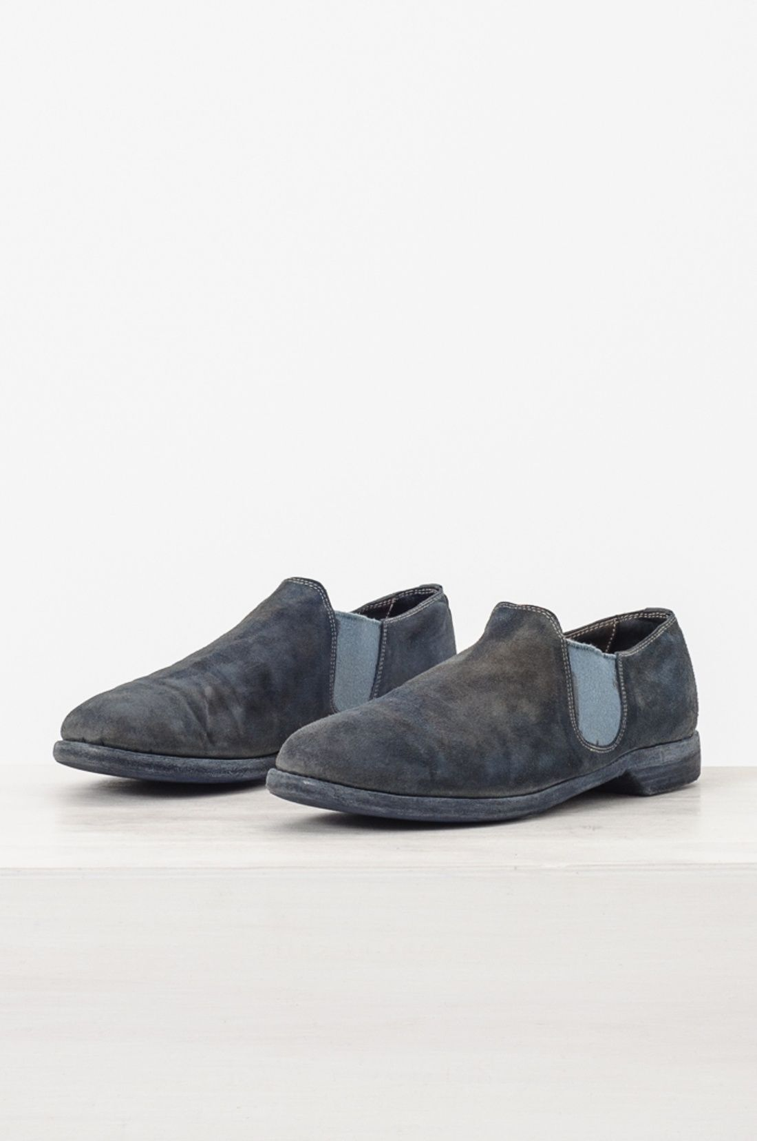 Guidi 109 Reverse Leather Slip On Shoe, Sz. 42 Size 9 $338 - Grailed