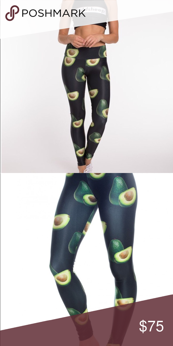 8384fd99c20c4 Worn once Goldsheep Avocado leggings size XS Who doesn't love avocados!!!these  leggings sell out everywhere! Still for sale on their website.