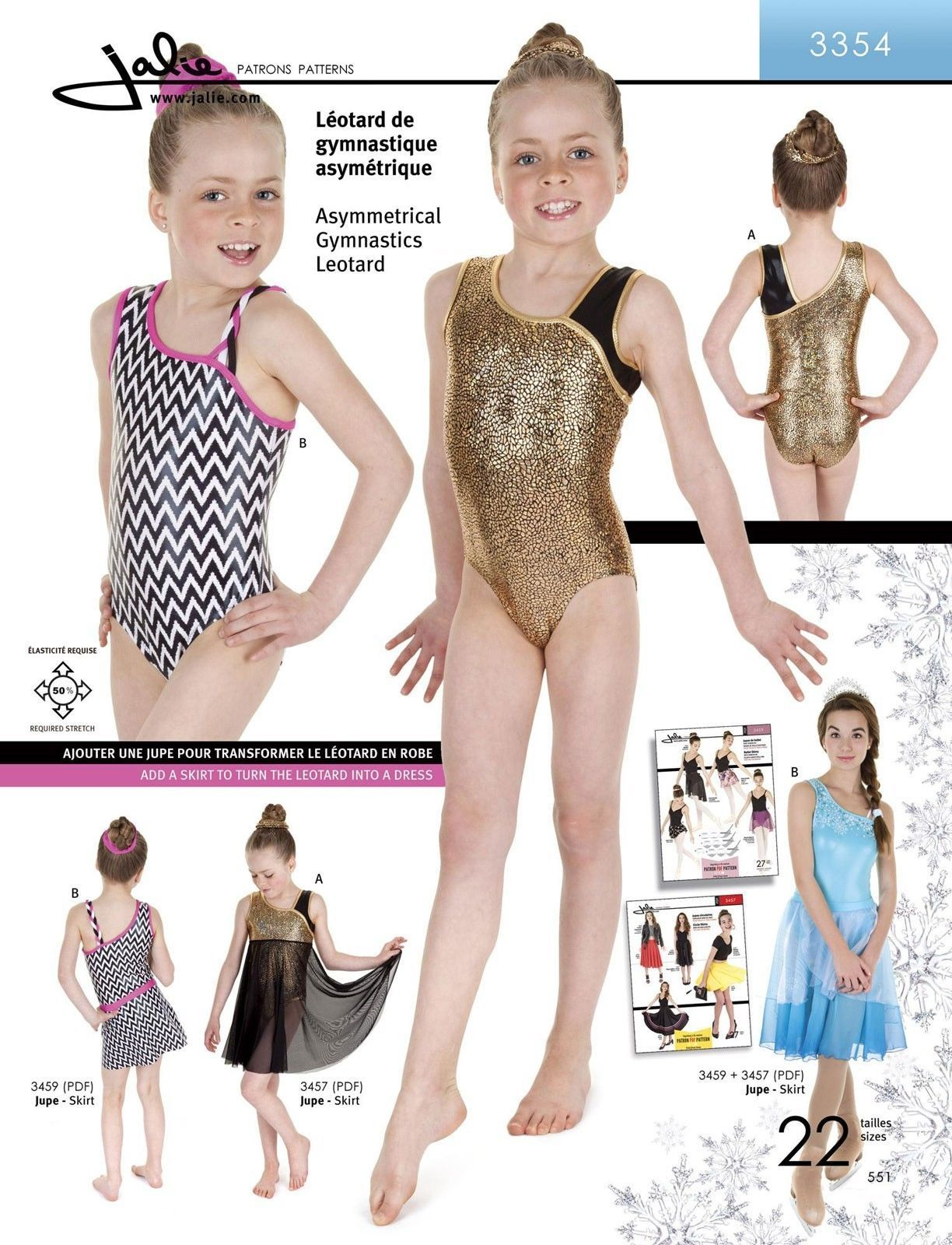 5f5f8ed4e203  11.95 - Jalie Asymmetrical Neck Tank Gymnastics Leotard Sewing ...
