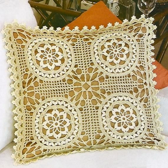 Crochet Pillow Cover - Free Pattern - Sophisticated