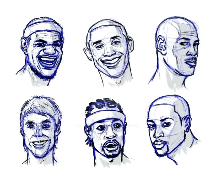 How To Draw Nba Players Howtodrawcartoonnbaplayers Howtodrawnbabasketballplay Pro Basketball Basketball Drawings Basketball Players