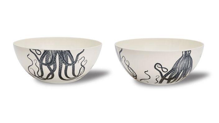 Thomas Paul Melamine Plates Bowl u0026 Tray  sc 1 st  Pinterest & Thomas Paul Melamine Plates Bowl u0026 Tray | Squid-a-palooza u0026 Friends ...
