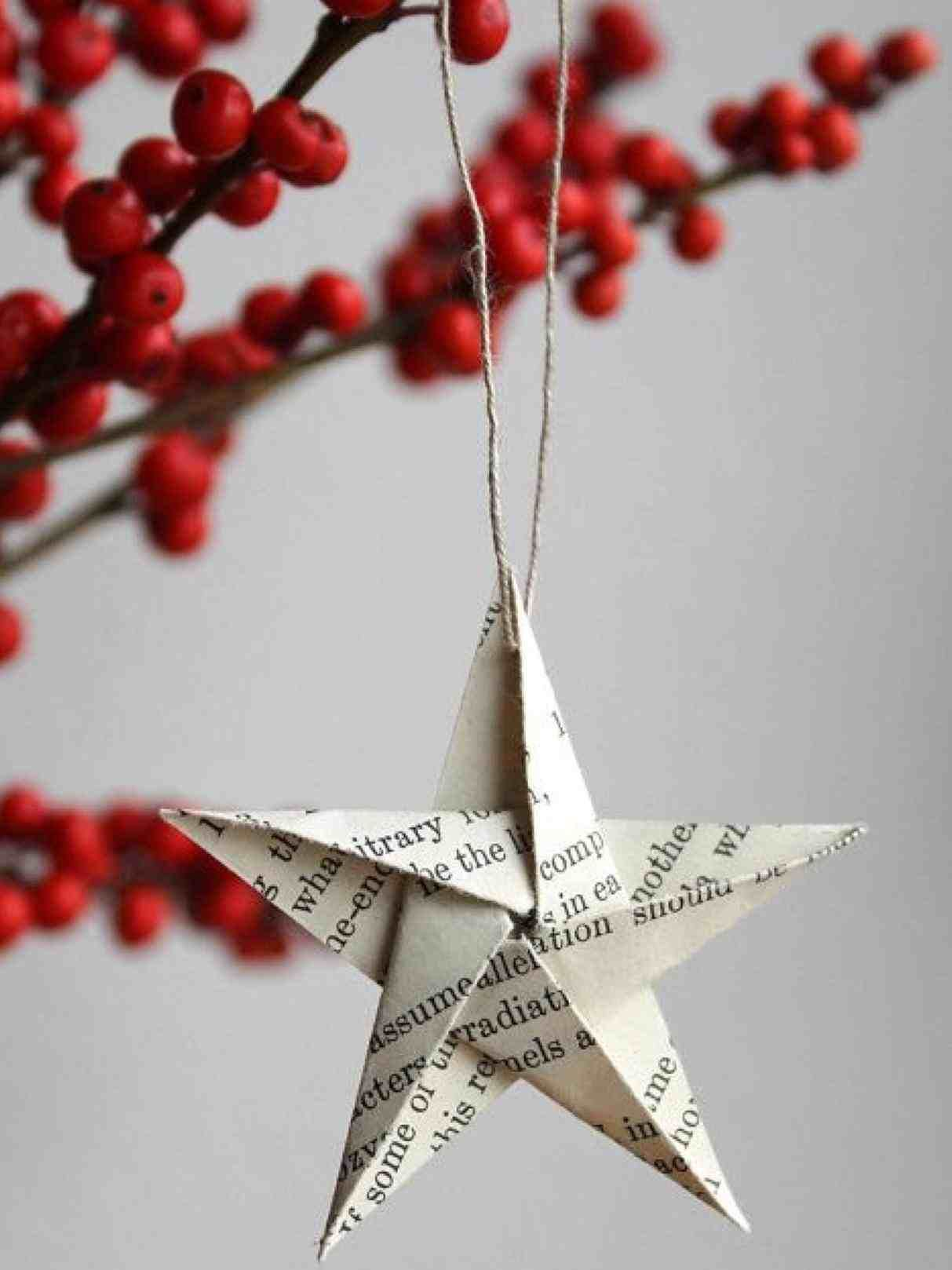 New Post Diy Christmas Tree Paper Decorations