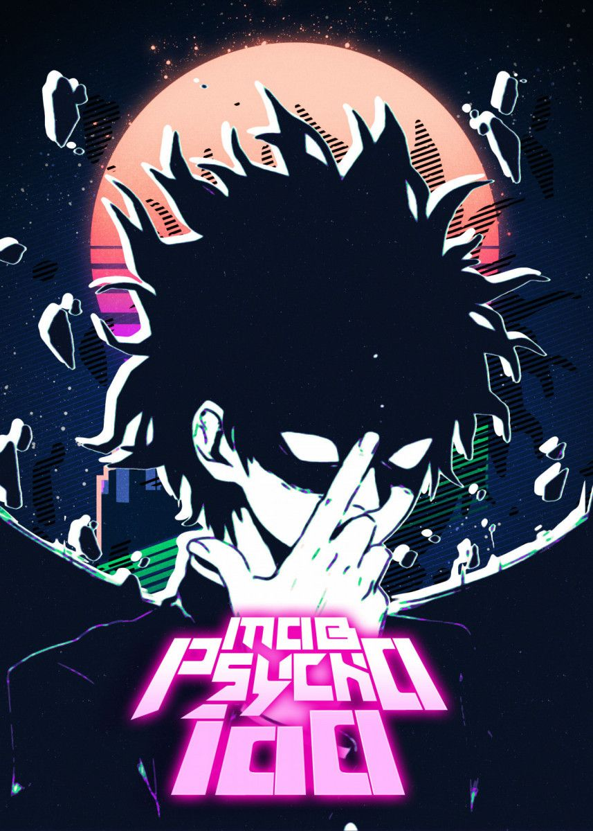 mob psycho 100 poster by secondsell