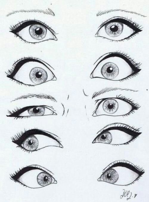 Eye Reference Drawings Art Drawings Art Drawings