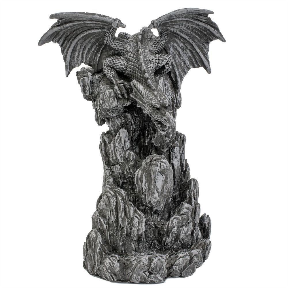 Nemesis Now Black Dragon Vintage Toilet Roll Holder Novelty Toilet Paper Holder