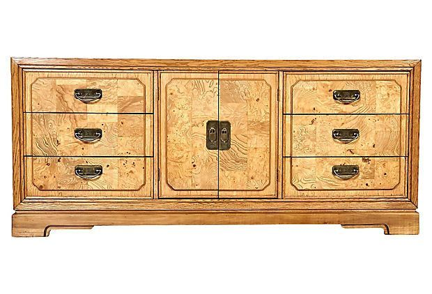 Asian-Style Burl Wood Accented Dresser Products Pinterest Products - Lane Bedroom Furniture