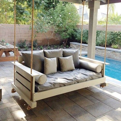 Breezy Lowcountry Home: Lowcountry Swing Beds The Midtown Daybed Swing In 2019
