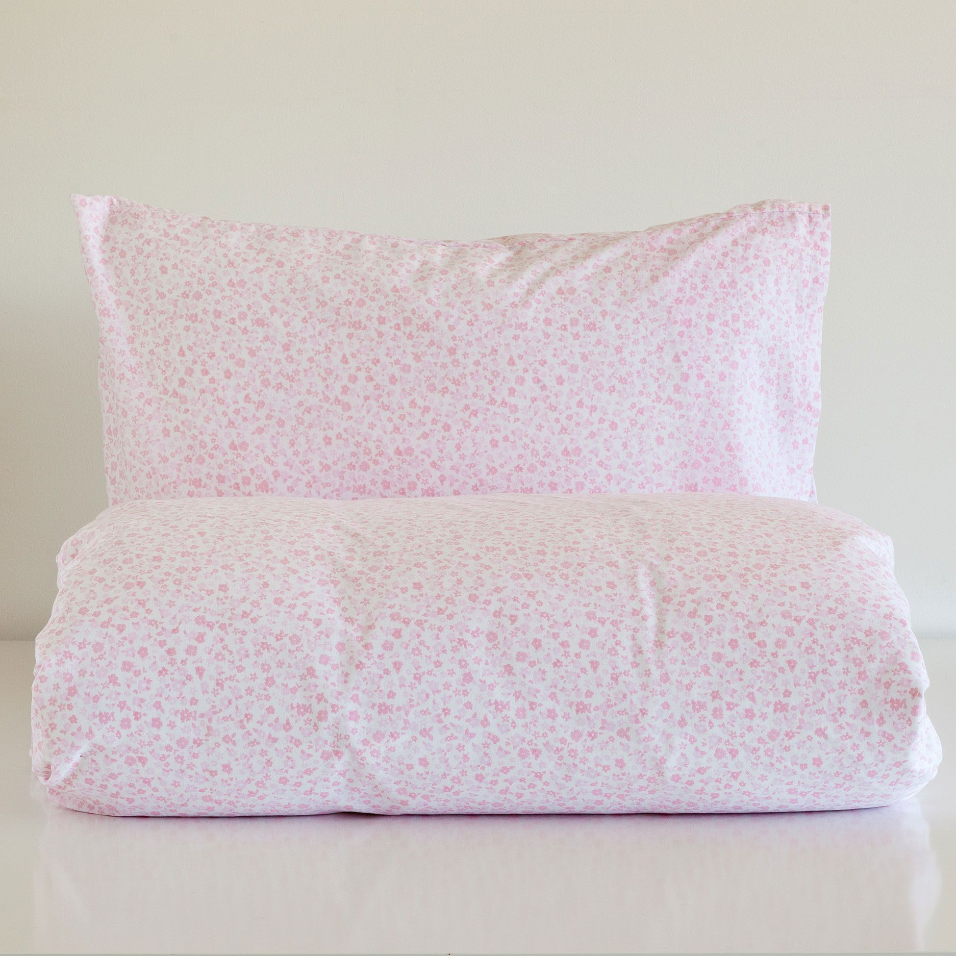 Floral duvet cover and pillow case set zara home basic - Funda nordica cuna zara home ...