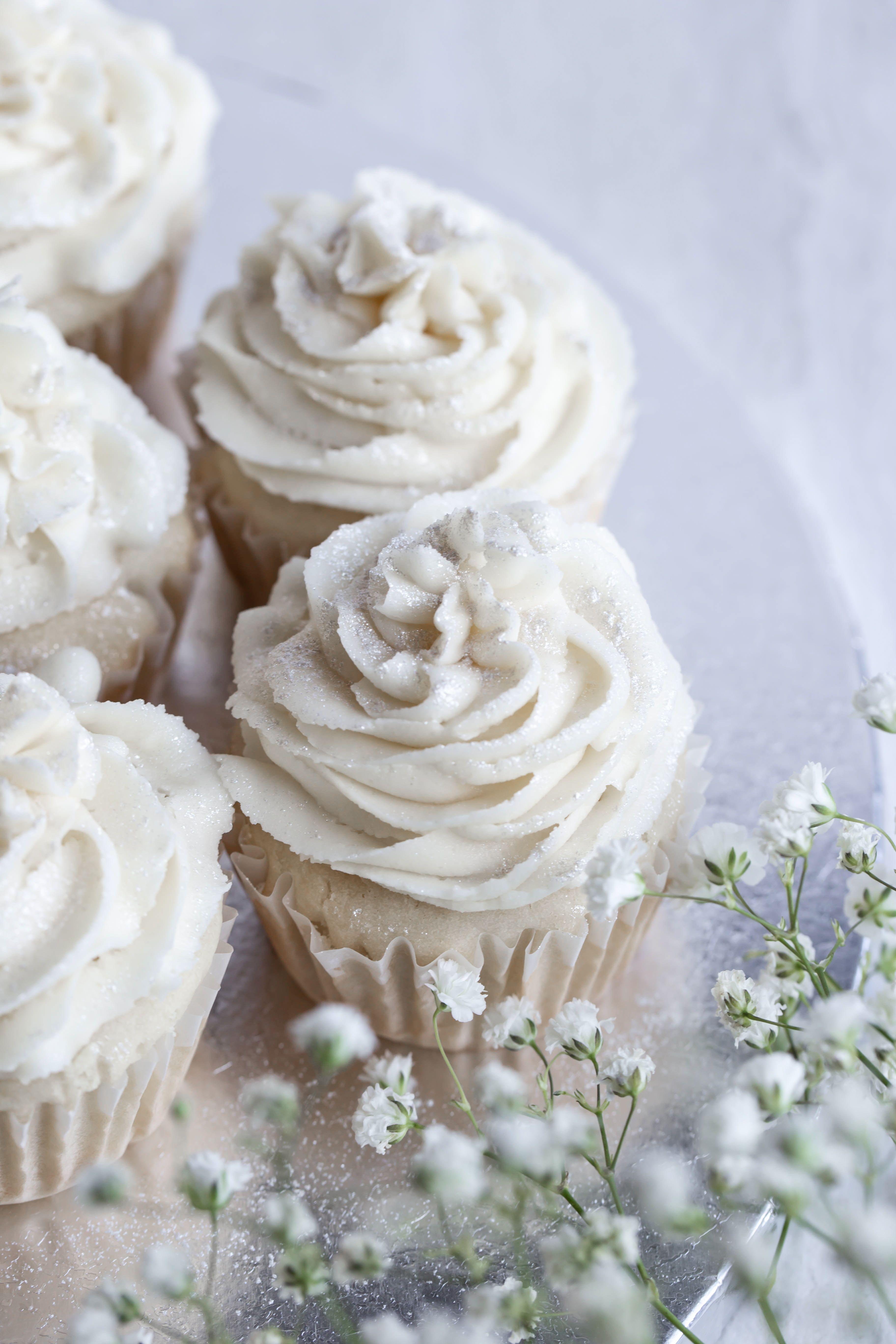 Vegan Vanilla Cupcakes Gluten Free