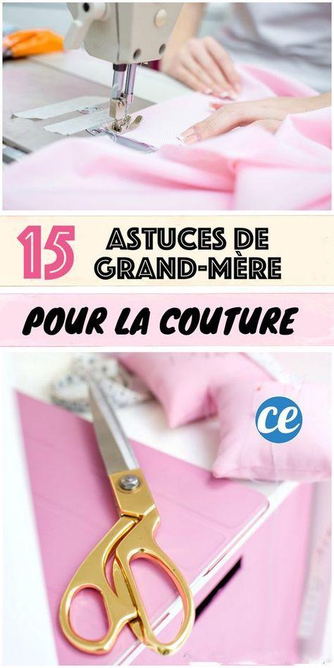 15 Astuces De Couture Que Votre Grand-Mère Aurait Dû Vous Apprendre. #tutorielsdecouture