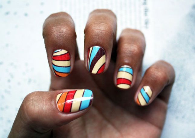 12 Diy Nail Art Ideas For Thanksgiving And Fall Nail Nail