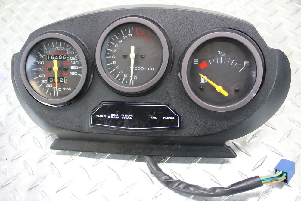 Ebay Sponsored 1995 Suzuki Katana 600 Gsx600f Speedo Tach Gauges Display Cluster Speedometer Suzuki Gauges Katana