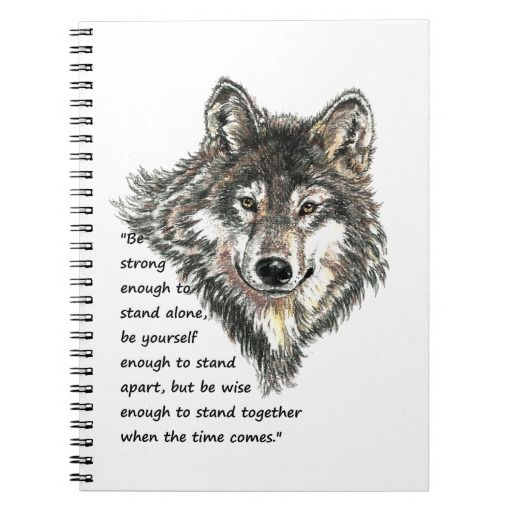 Be Strong Enough Wolf Quote