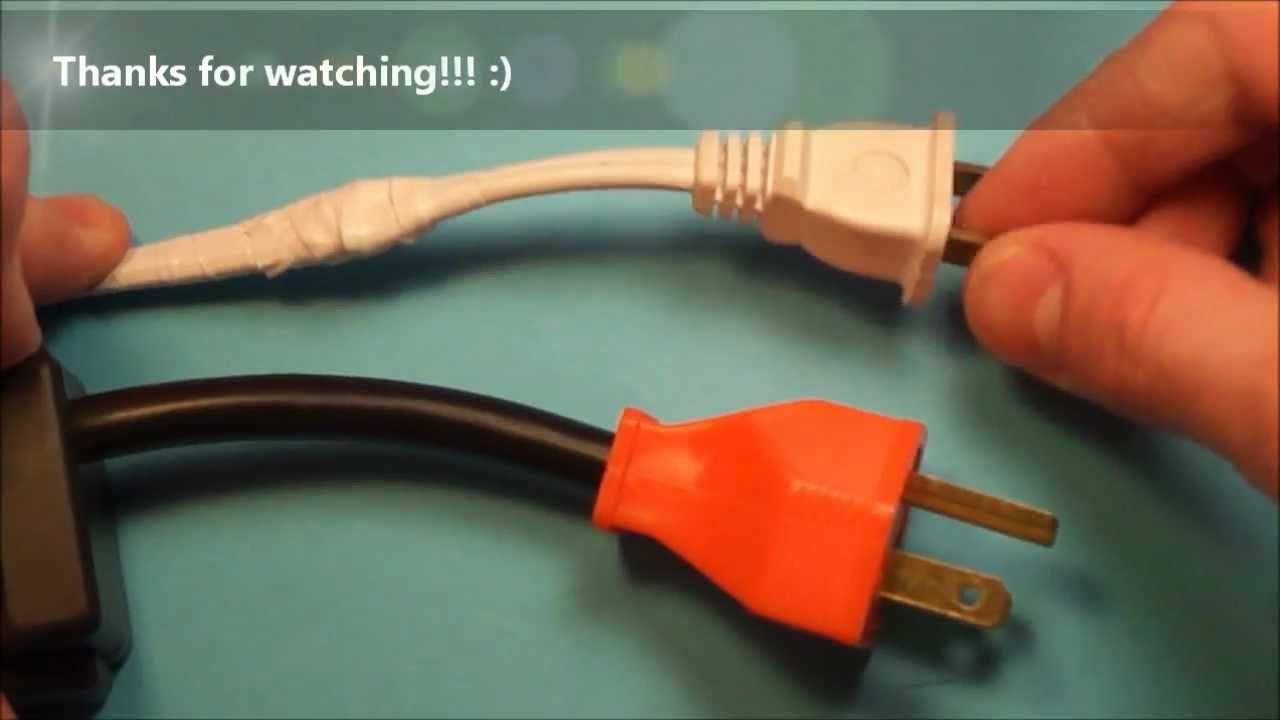 A howto video on how to fix broken electrical wires found