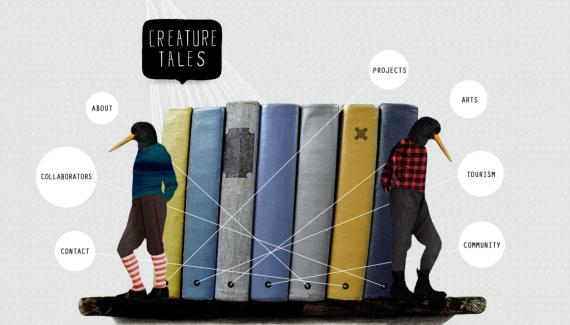 Creature Tales website