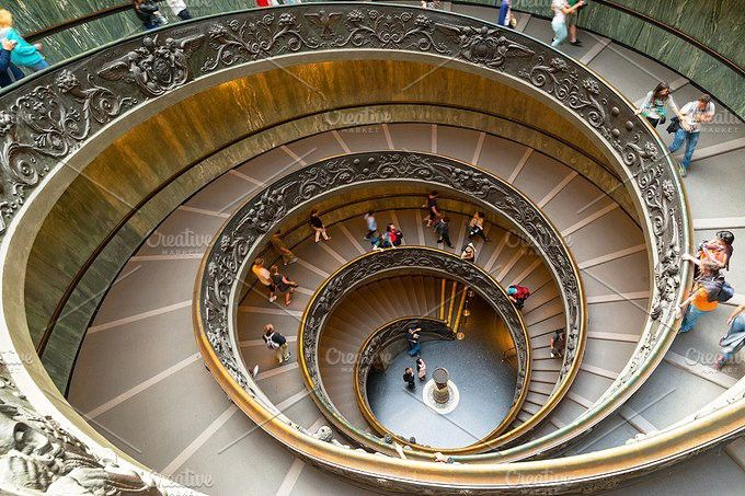 Best Famous Spiral Staircase In Vatican With Images Spiral 400 x 300