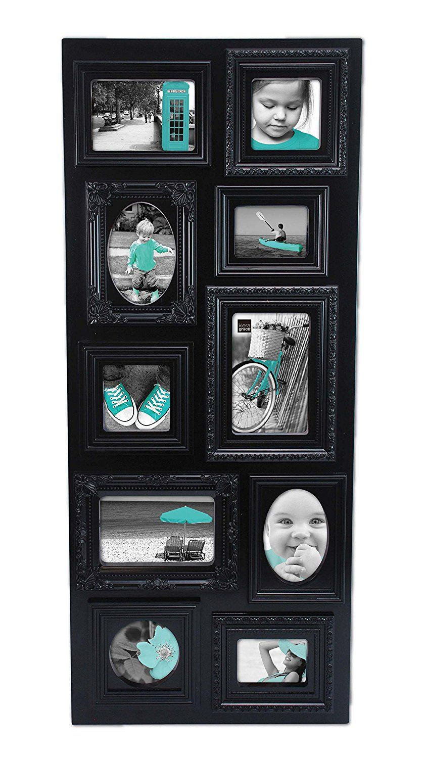 Kiera Grace Sophia 10 Opening Collage Frame 13 Inch By 31 Inch Black To View Further For This Item Visit Th Collage Frames Frame Picture Frames