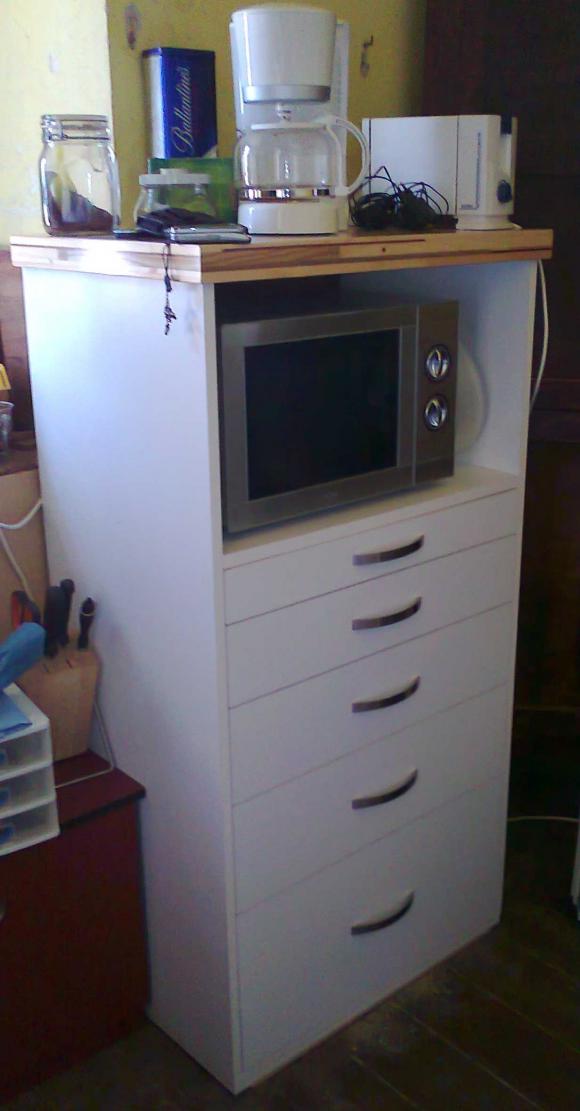 Auxiliares de cocina elegant lo mejor de muebles - Mueble auxiliar cocina conforama ...