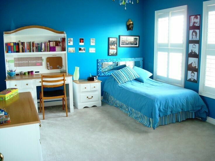 blue room  blue bedroom walls girls bedroom paint light