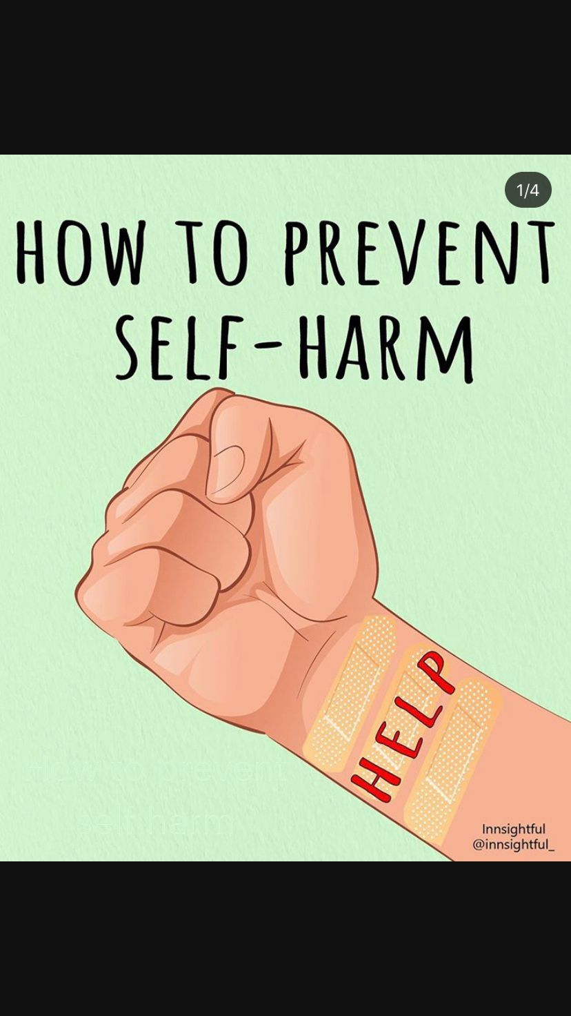 How to prevent self harm