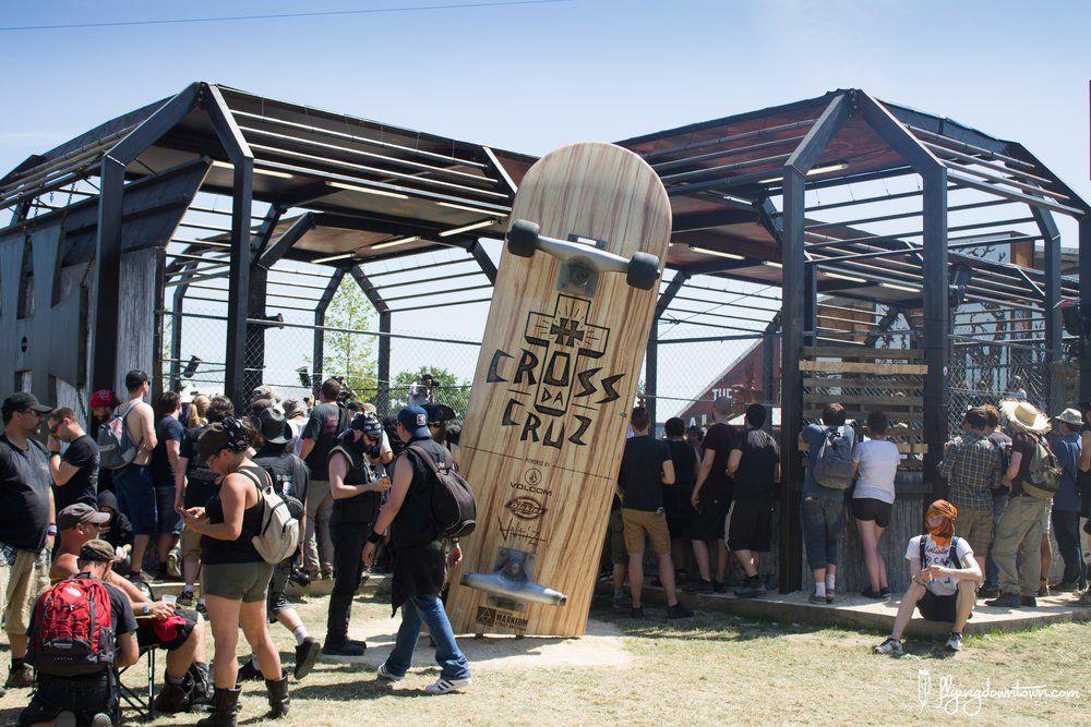 hellfest skatepark