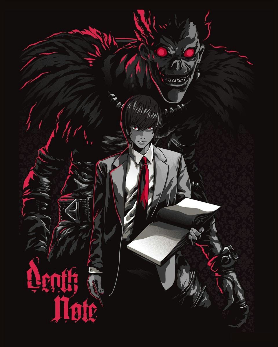 Pin by Vanee Cortes on Death note - ryuk - shinigami   Pinterest ...