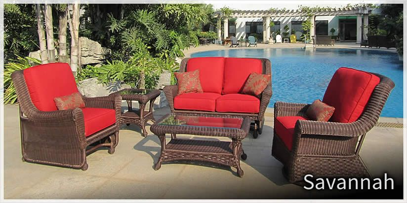 Erwin U0026 Sons   Savannah Wicker Outdoor Patio Furniture Sold At Trees N  Trends Or At